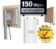 Point-to-Point Bridge Link N RTM5 150 Mbps - IP65