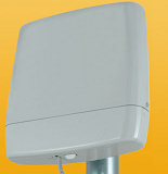 StationBox for RouterStation(Pro) with 2 x 12 dBi 5 GHz MIMO ant