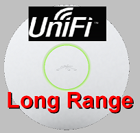 UniFi 802.11b/g/n Long Range Indoor Access Point