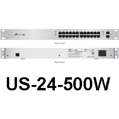 UniFi Switch 24 - 500W